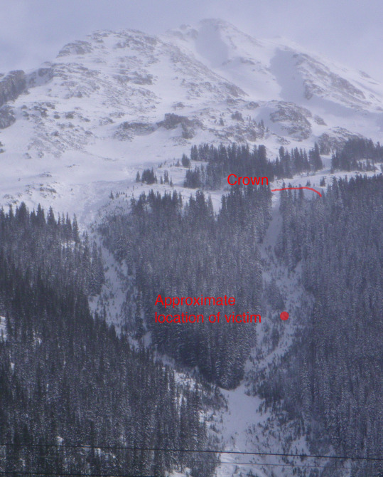 <b>Figure 10:</b> An overview of Kendall Mountain and the Rabbit Ears avalanche path (this image is from 2013). (<a href=javascript:void(0); onClick=win=window.open('https://avalanche.state.co.us/caic/media/full/acc_556_8820.jpg','caic_media','resizable=1,height=820,width=840,scrollbars=yes');win.focus();return false;>see full sized image</a>)