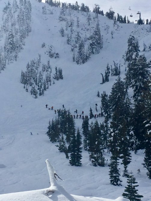 <b>Figure 1:</b> Photo of the search area taken the morning of 12/11 by a Washoe County Search and Rescue volunteer. Courtesy Washoe County Sheriff. (<a href=javascript:void(0); onClick=win=window.open('http://avalanche.state.co.us/caic/media/full/acc_617_13745.jpg','caic_media','resizable=1,height=820,width=840,scrollbars=yes');win.focus();return false;>see full sized image</a>)