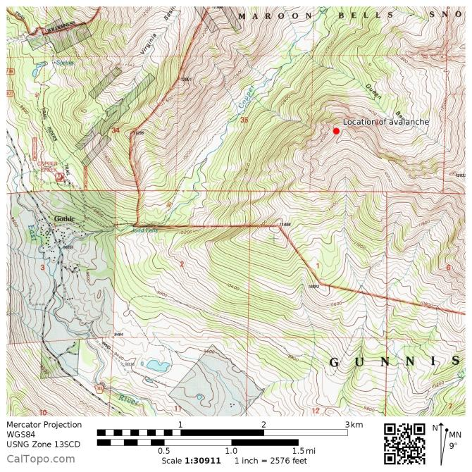 <b>Figure 9:</b> A topographic map of the avalanche site. (<a href=javascript:void(0); onClick=win=window.open('http://avalanche.state.co.us/caic/media/full/acc_632_15808.jpg','caic_media','resizable=1,height=820,width=840,scrollbars=yes');win.focus();return false;>see full sized image</a>)