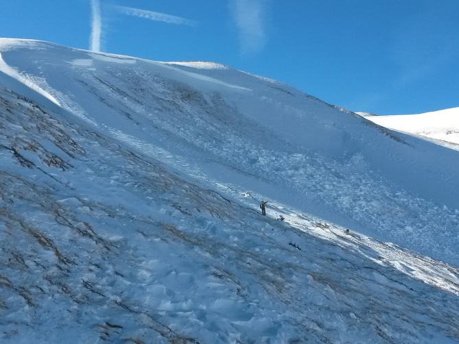 <b>Figure 2:</b> Mt. Trelease Persistent Slab avalanche. NE aspect above treeline, Est. 11.21.15 (<a href=javascript:void(0); onClick=win=window.open('https://avalanche.state.co.us/caic/media/full/obs_36564_10333.jpg','caic_media','resizable=1,height=820,width=840,scrollbars=yes');win.focus();return false;>see full sized image</a>)