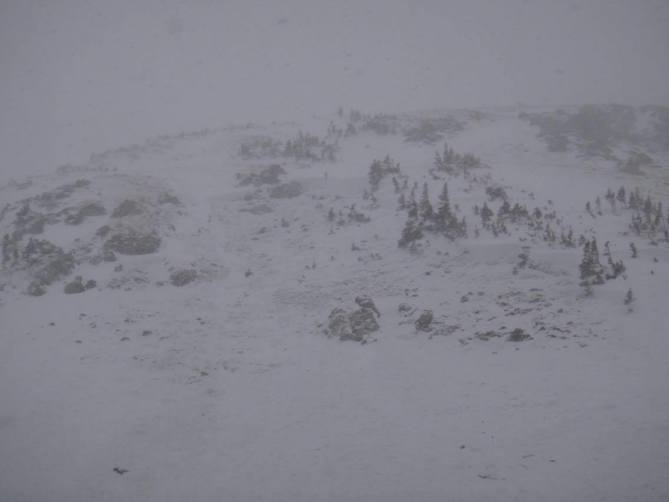 <b>Figure 1:</b> Three skiers triggered this avalanche on a north-facing aspect in Butler Gulch in the Front Range zone on 12-10-2016. Two skiers were partially buried. The third was completely buried. The partially buried skiers were able to self rescue and the group was able to excavate the fully buried individual. Nobody was injured. (CAIC Notes: From the photo the avalanche would be classified as  HS-ASu-R2-D1.5-G 100 feet wide by 150 feet long.) (<a href=javascript:void(0); onClick=win=window.open('http://avalanche.state.co.us/caic/media/full/obs_43084_13702.jpg','caic_media','resizable=1,height=820,width=840,scrollbars=yes');win.focus();return false;>see full sized image</a>)