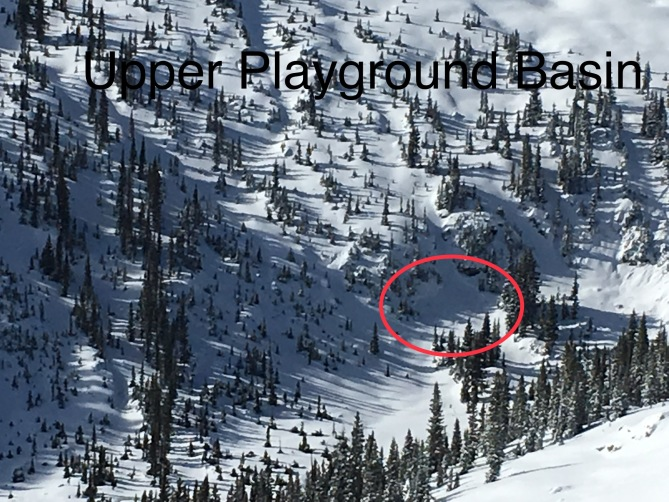 <b>Figure 2:</b> Playground, low on slope (<a href=javascript:void(0); onClick=win=window.open('https://avalanche.state.co.us/caic/media/full/obs_48403_17769.jpeg','caic_media','resizable=1,height=820,width=840,scrollbars=yes');win.focus();return false;>see full sized image</a>)
