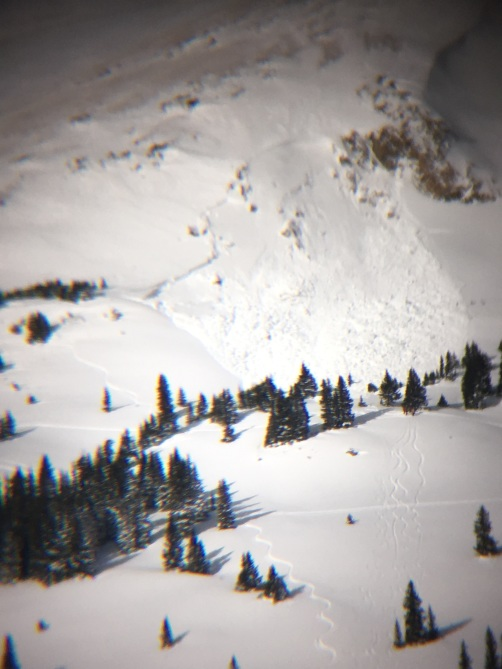 <b>Figure 1:</b> Avalanche on Mount Trelease (<a href=javascript:void(0); onClick=win=window.open('https://avalanche.state.co.us/caic/media/full/obs_48430_17791.jpg','caic_media','resizable=1,height=820,width=840,scrollbars=yes');win.focus();return false;>see full sized image</a>)