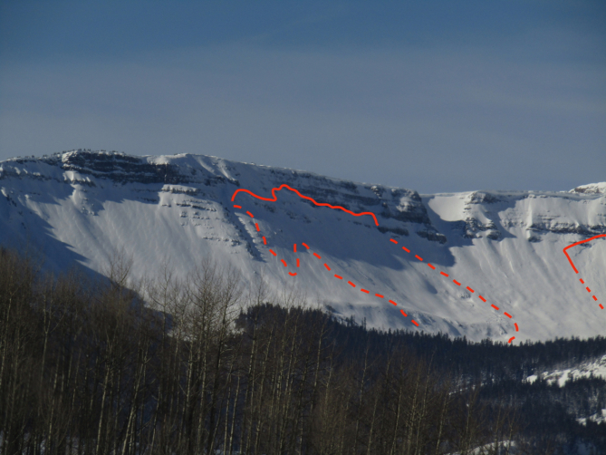 <b>Figure 10:</b> Two D2's below Scarp Ridge, northeast aspect (<a href=javascript:void(0); onClick=win=window.open('https://avalanche.state.co.us/caic/media/full/obs_53424_22849.jpg','caic_media','resizable=1,height=820,width=840,scrollbars=yes');win.focus();return false;>see full sized image</a>)