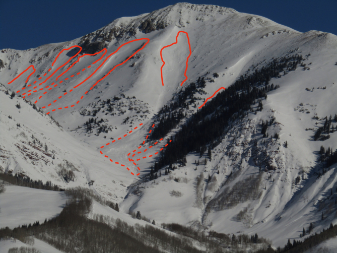 <b>Figure 12:</b> Western State College Mountain, west-facing slope (<a href=javascript:void(0); onClick=win=window.open('https://avalanche.state.co.us/caic/media/full/obs_53424_22851.jpg','caic_media','resizable=1,height=820,width=840,scrollbars=yes');win.focus();return false;>see full sized image</a>)