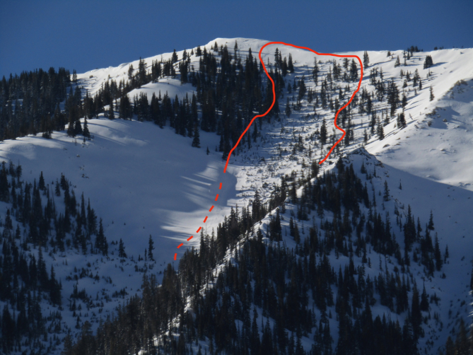 <b>Figure 22:</b> Whetstone Mountain, the Thumb of the Claw (<a href=javascript:void(0); onClick=win=window.open('https://avalanche.state.co.us/caic/media/full/obs_53424_22861.jpg','caic_media','resizable=1,height=820,width=840,scrollbars=yes');win.focus();return false;>see full sized image</a>)