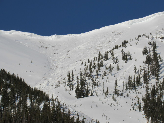 <b>Figure 3:</b> Star Mountain B. Avalanche date unknown but after 4/30/19 (<a href=javascript:void(0); onClick=win=window.open('https://avalanche.state.co.us/caic/media/full/obs_56561_26689.jpg','caic_media','resizable=1,height=820,width=840,scrollbars=yes');win.focus();return false;>see full sized image</a>)