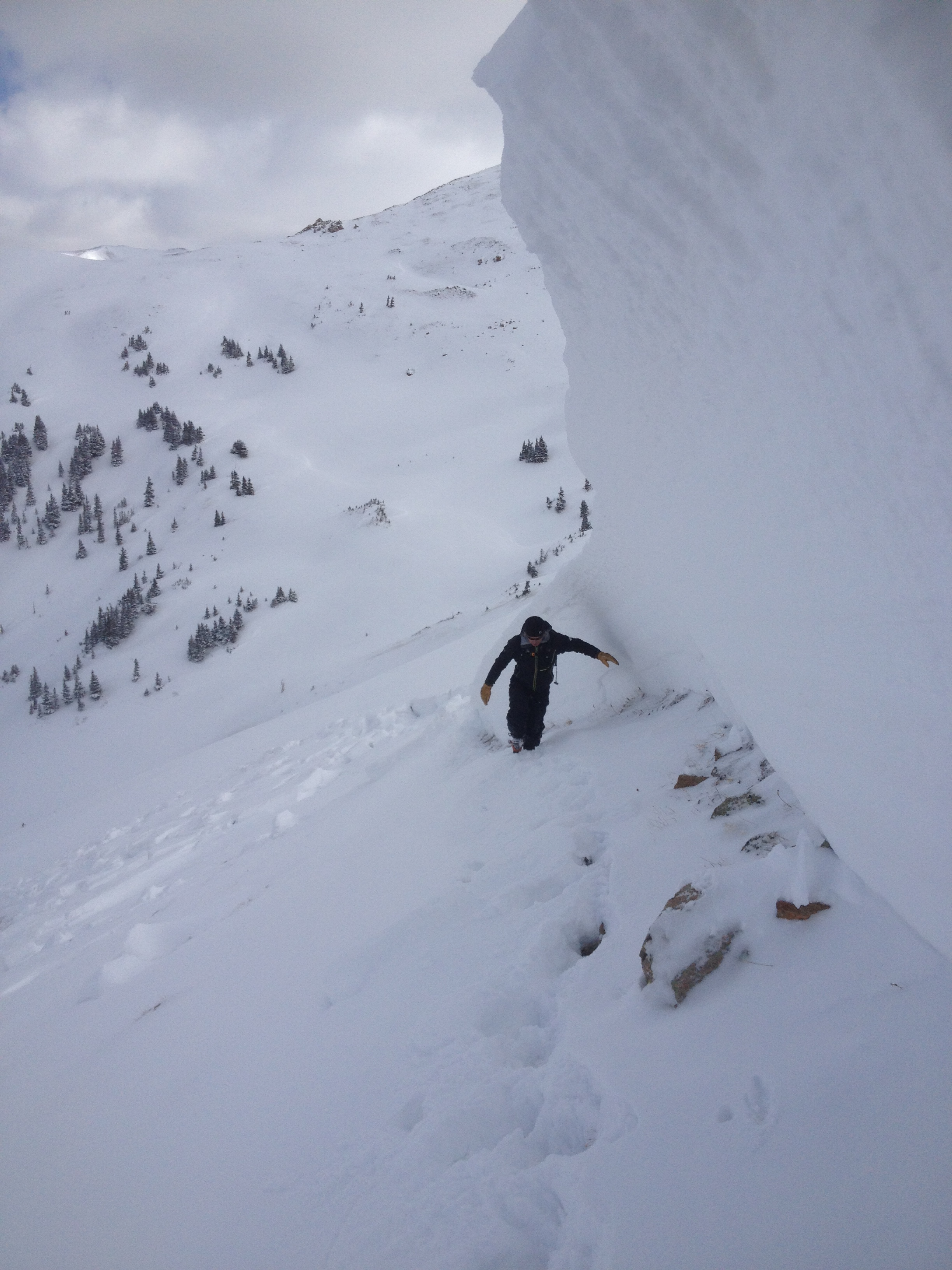 Sheep Creek 12' Avalanche Crown